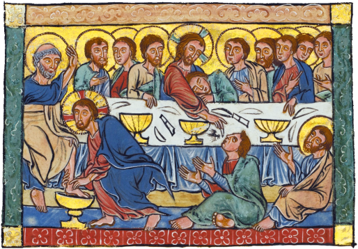 Last_Supper_miniature_from_a_Psalter_c1220-40