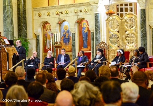 Ecumenical Leaders attend Holy Tuesday services in St Sophia Cat