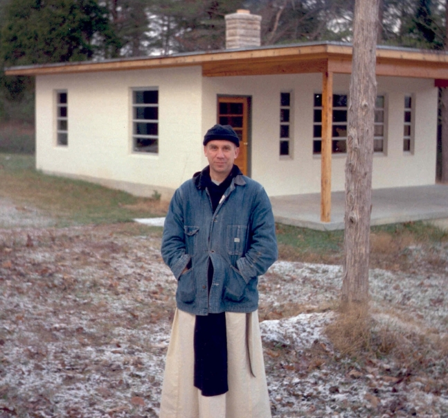 Trappist Father Thomas Merton pictured in undated photo