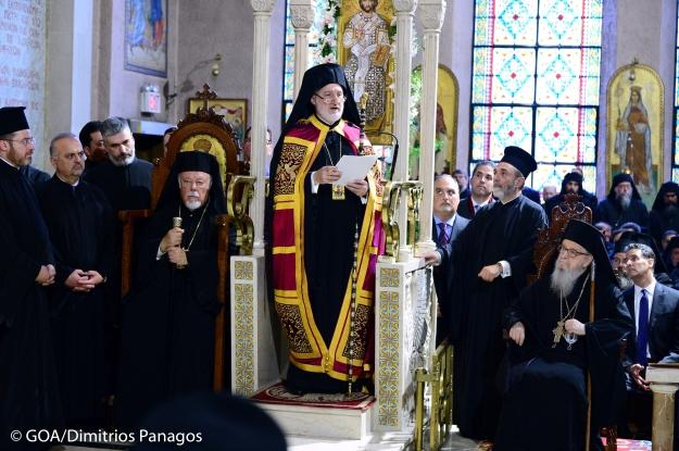 June 22, 2019: The Enthronement of His Eminence Archbishop Elpidophoros of America